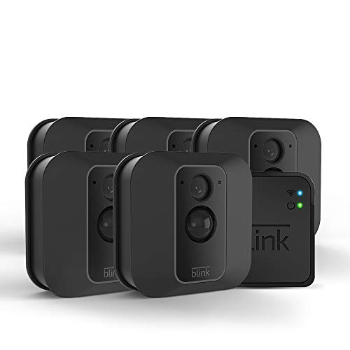Product Cover All-new Blink XT2 Outdoor/Indoor Smart Security Camera with cloud storage included, 2-way audio, 2-year battery life - 5 camera kit